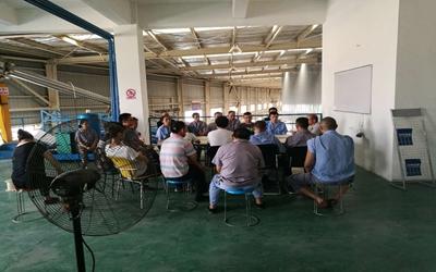 凝聚力量  勤练内功  2017年度电缆厂员工轮训工作正在进行