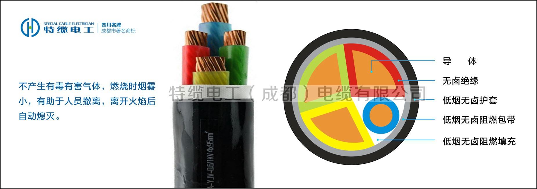 低烟无卤环保电缆WDZ-YJY